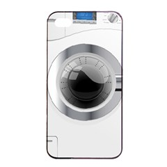 White Washing Machine Apple Iphone 4/4s Seamless Case (black) by BangZart