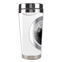 White Washing Machine Stainless Steel Travel Tumblers by BangZart