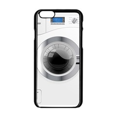 White Washing Machine Apple Iphone 6/6s Black Enamel Case by BangZart