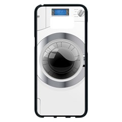 White Washing Machine Samsung Galaxy S8 Plus Black Seamless Case by BangZart