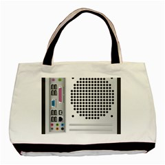 Standard Computer Case Back Basic Tote Bag by BangZart