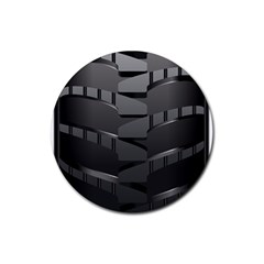 Tire Rubber Coaster (round)  by BangZart