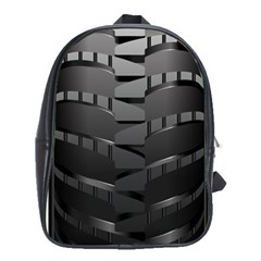 Tire School Bags(large)  by BangZart