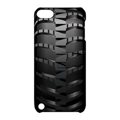 Tire Apple Ipod Touch 5 Hardshell Case With Stand by BangZart