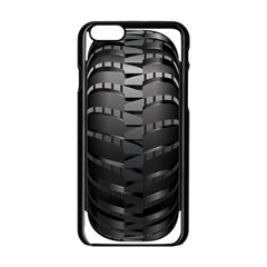 Tire Apple Iphone 6/6s Black Enamel Case