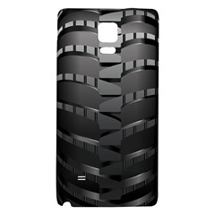 Tire Galaxy Note 4 Back Case by BangZart