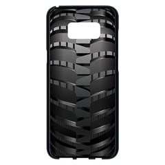 Tire Samsung Galaxy S8 Plus Black Seamless Case