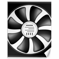 12v Computer Fan Canvas 18  X 24   by BangZart