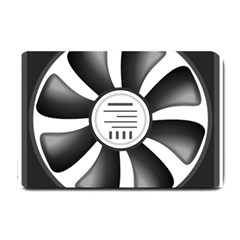 12v Computer Fan Small Doormat  by BangZart