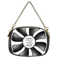 12v Computer Fan Chain Purses (two Sides)  by BangZart