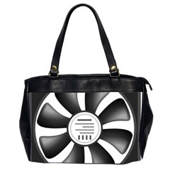 12v Computer Fan Office Handbags (2 Sides)  by BangZart