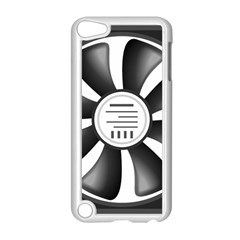 12v Computer Fan Apple Ipod Touch 5 Case (white) by BangZart
