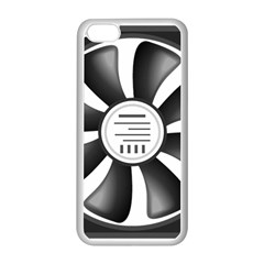 12v Computer Fan Apple Iphone 5c Seamless Case (white)