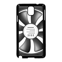 12v Computer Fan Samsung Galaxy Note 3 Neo Hardshell Case (black) by BangZart