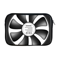 12v Computer Fan Apple Macbook Pro 17  Zipper Case by BangZart