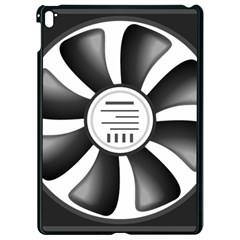 12v Computer Fan Apple Ipad Pro 9 7   Black Seamless Case by BangZart