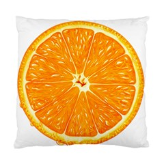 Orange Slice Standard Cushion Case (two Sides) by BangZart