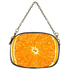 Orange Slice Chain Purses (two Sides)
