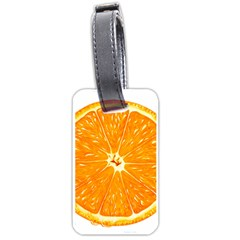 Orange Slice Luggage Tags (one Side)  by BangZart