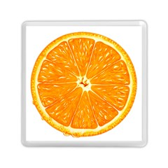 Orange Slice Memory Card Reader (square)  by BangZart