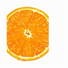 Orange Slice Large Garden Flag (two Sides) by BangZart