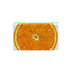 Orange Slice Cosmetic Bag (xs) by BangZart
