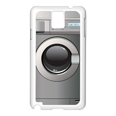 Washing Machine Samsung Galaxy Note 3 N9005 Case (white) by BangZart