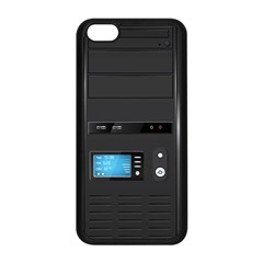 Standard Computer Case Front Apple Iphone 5c Seamless Case (black) by BangZart