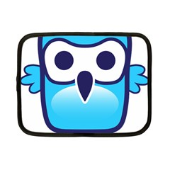 Owl Logo Clip Art Netbook Case (small)  by BangZart