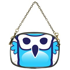 Owl Logo Clip Art Chain Purses (one Side)  by BangZart