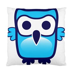 Owl Logo Clip Art Standard Cushion Case (two Sides) by BangZart