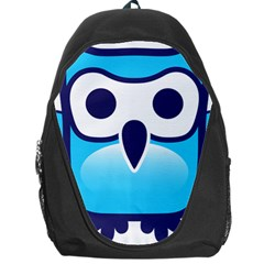 Owl Logo Clip Art Backpack Bag