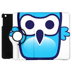 Owl Logo Clip Art Apple Ipad Mini Flip 360 Case by BangZart