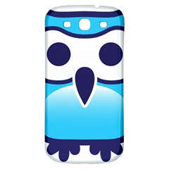 Owl Logo Clip Art Samsung Galaxy S3 S Iii Classic Hardshell Back Case by BangZart