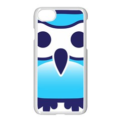 Owl Logo Clip Art Apple Iphone 7 Seamless Case (white) by BangZart