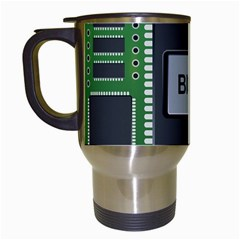 Computer Bios Board Travel Mugs (white) by BangZart