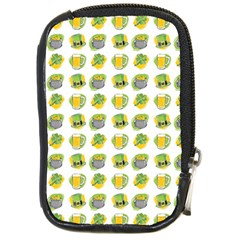 St Patrick S Day Background Symbols Compact Camera Cases by BangZart