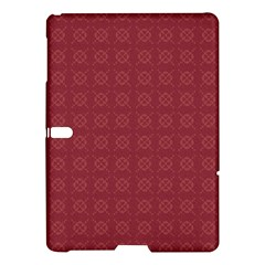 Purple Pattern Background Texture Samsung Galaxy Tab S (10 5 ) Hardshell Case  by BangZart
