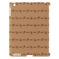 Brown Pattern Background Texture Apple Ipad 3/4 Hardshell Case (compatible With Smart Cover) by BangZart