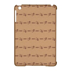 Brown Pattern Background Texture Apple Ipad Mini Hardshell Case (compatible With Smart Cover) by BangZart