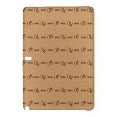 Brown Pattern Background Texture Samsung Galaxy Tab Pro 10 1 Hardshell Case by BangZart