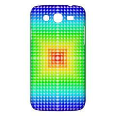 Square Rainbow Pattern Box Samsung Galaxy Mega 5 8 I9152 Hardshell Case  by BangZart