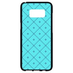 Pattern Background Texture Samsung Galaxy S8 Black Seamless Case