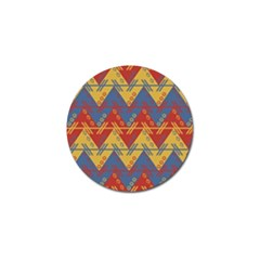 Aztec South American Pattern Zig Golf Ball Marker (10 Pack) by BangZart
