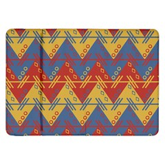 Aztec South American Pattern Zig Samsung Galaxy Tab 8 9  P7300 Flip Case by BangZart
