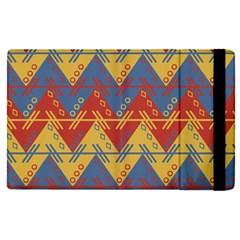 Aztec South American Pattern Zig Apple Ipad Pro 12 9   Flip Case by BangZart