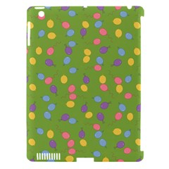 Balloon Grass Party Green Purple Apple Ipad 3/4 Hardshell Case (compatible With Smart Cover)