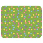 Balloon Grass Party Green Purple Double Sided Flano Blanket (Medium)  60 x50 Blanket Back