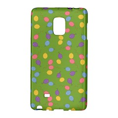 Balloon Grass Party Green Purple Galaxy Note Edge by BangZart