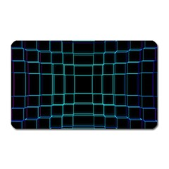 Abstract Adobe Photoshop Background Beautiful Magnet (rectangular)